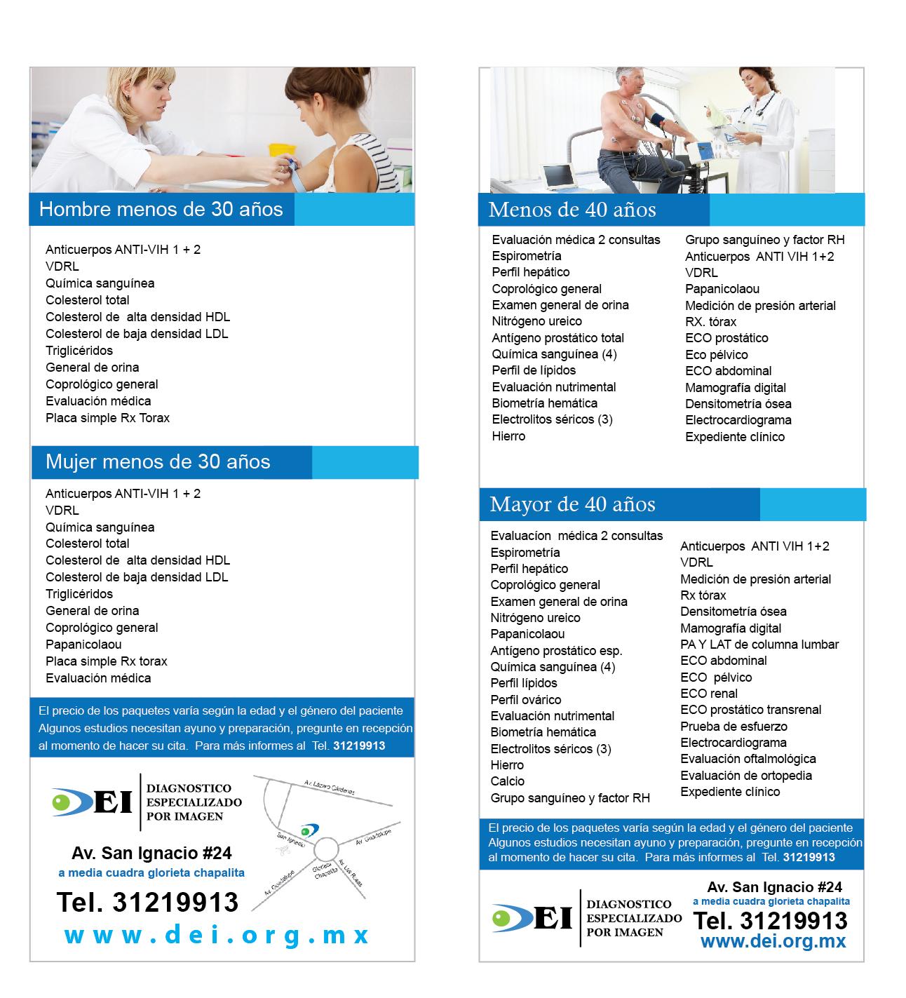 check ups medicos ejecutivos