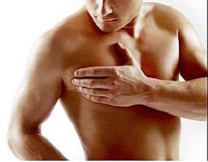 Cáncer de seno en hombres